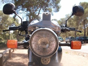 My cb250 in spain