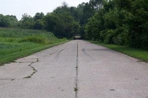 road seam