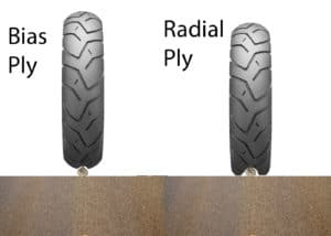 motorcycle bias vs radial tire